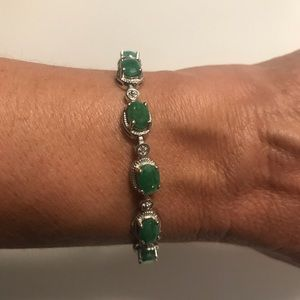 JTV Green Onyx Bracelet NWOT